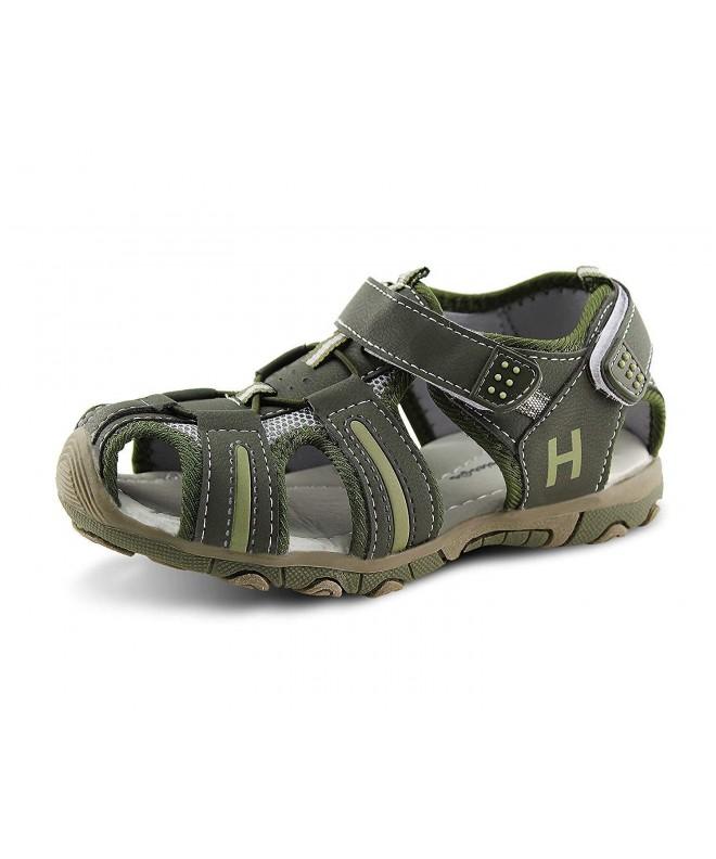 Jabasic Closed Toe Outdoor Adventure Sandals
