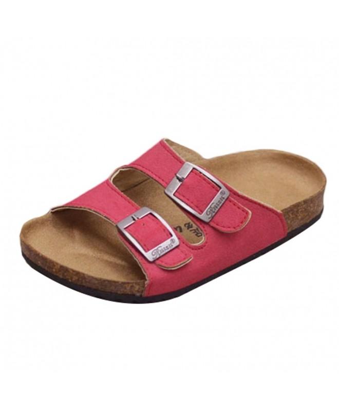 Mallimoda Girls Buckle Slippers Sandals