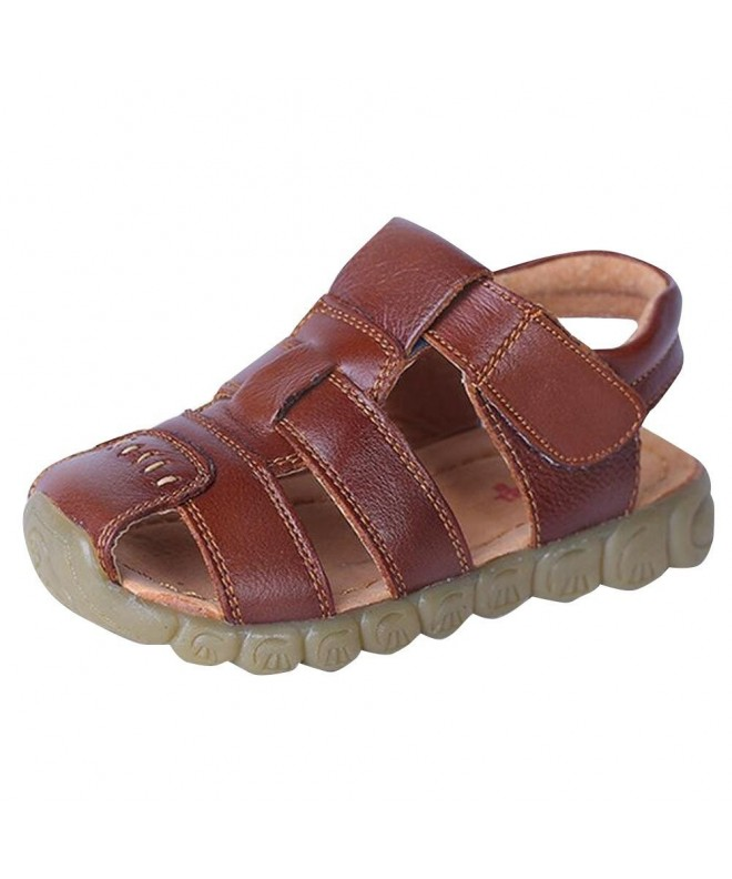 Bonaweite Closed Genuine Leather Sandals