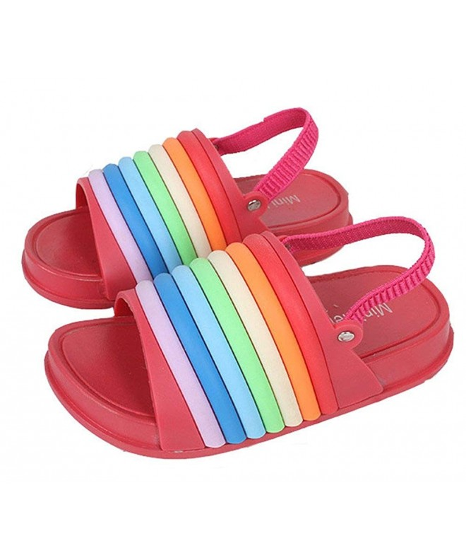 Full Win Girls Rainbow Sandal