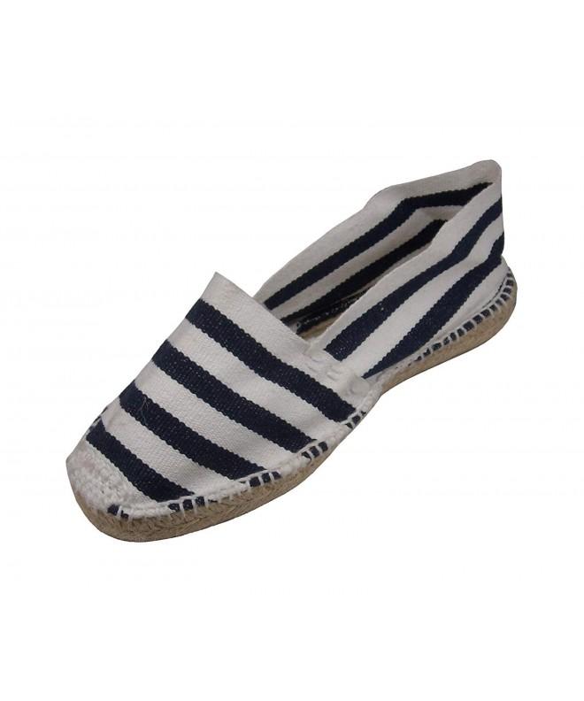 Alpargatus Alpargatus Espadrille White Stripes Blue