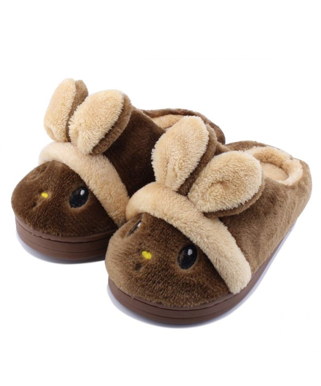 Slippers Rabbit Girls Winter Comfort