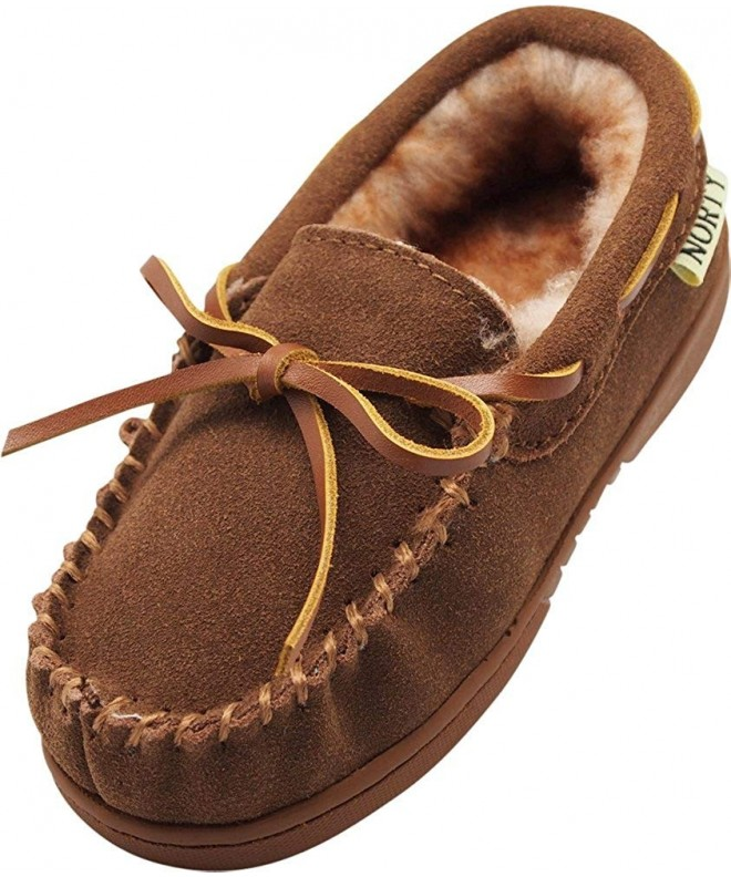 NORTY Toddler Genuine Moccasin Slippers