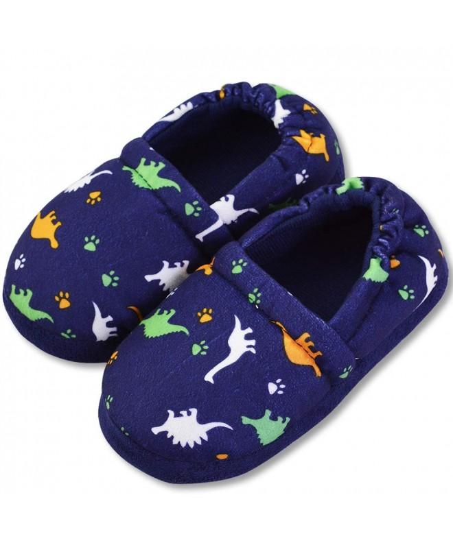 VLLY Winter Dinosaur Slippers Anti Slip