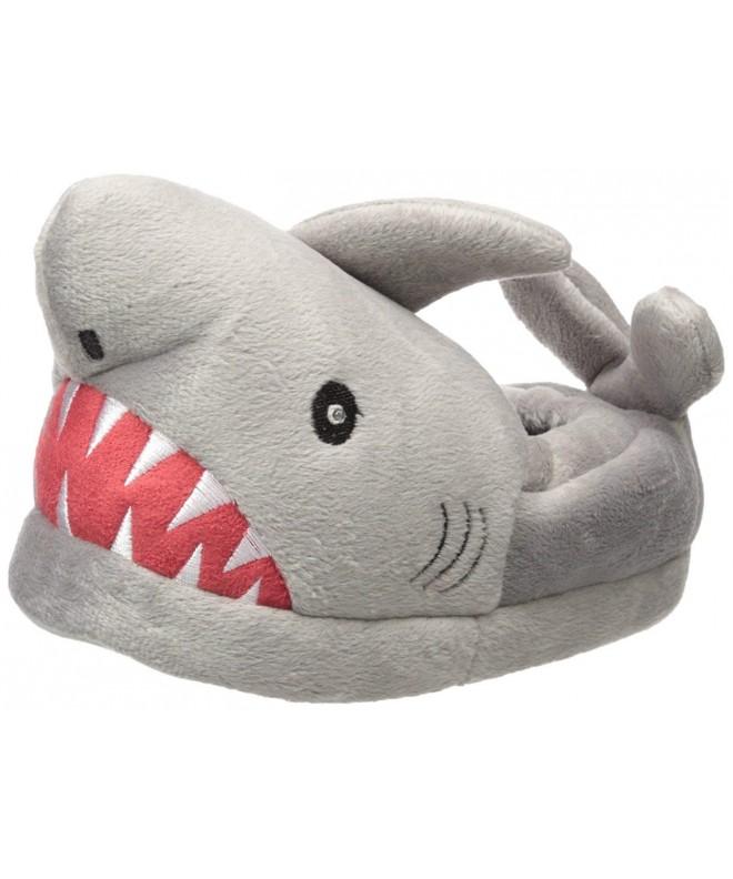 Trimfit Light Up Shark Slippers Moccasin