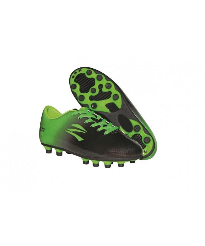 zephz Traxx Black Green Soccer