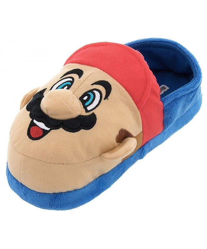 Super Mario Luigi Kids Slippers