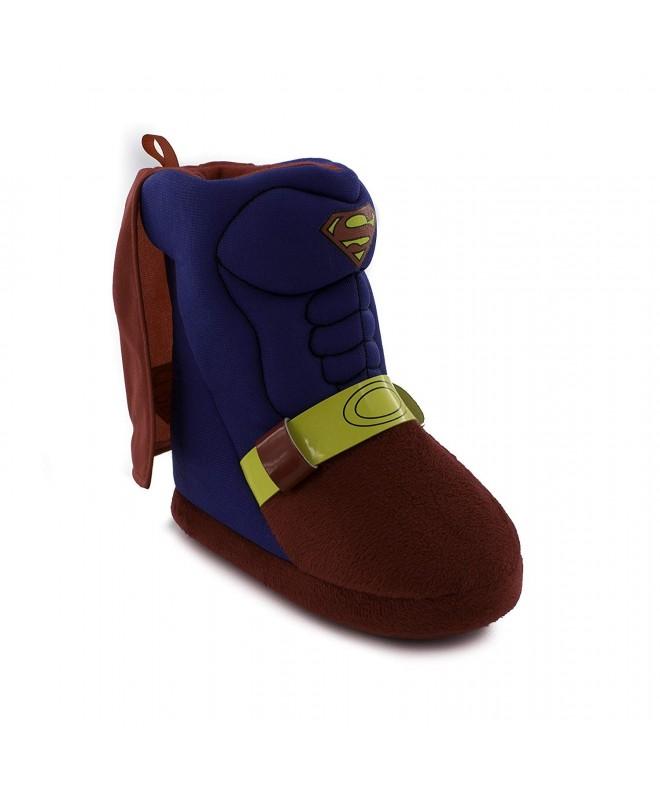 Superman Toddler Boys Caped Slipper