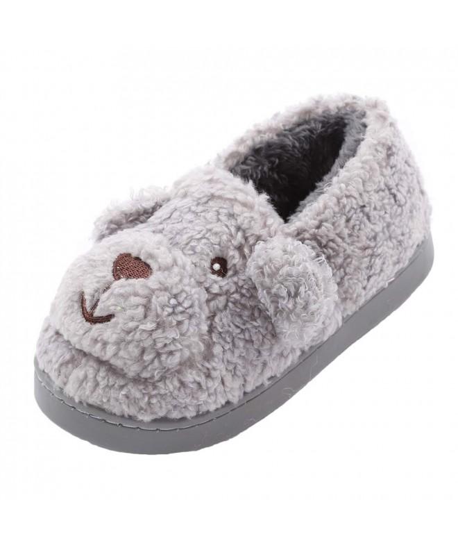 Indoor Slippers Fleece Bedroom Winter