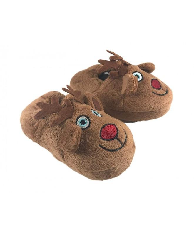 Avon Christmas Reindeer Slippers Toddler