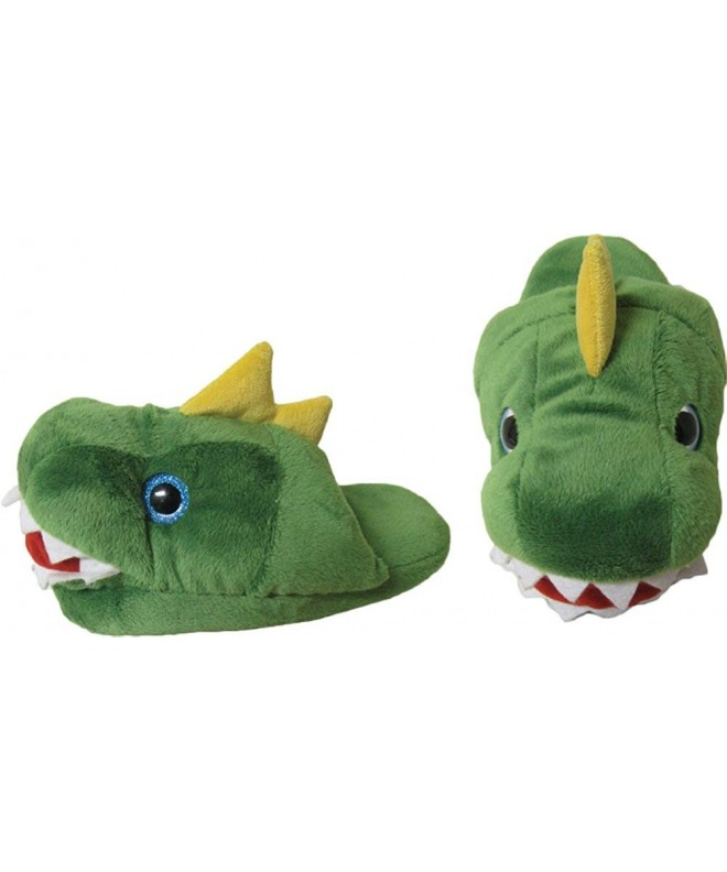 Kreative KidsT Rex Plush Slippers Size