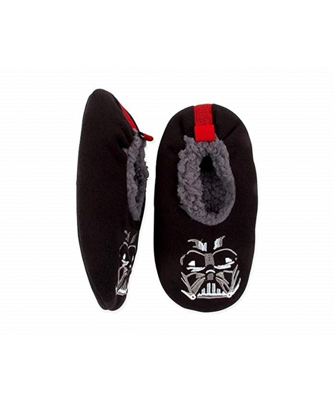 Fuzzy Babba Slipper Socks Darth