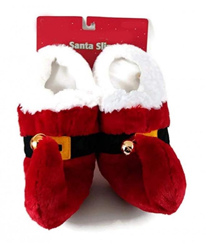 MerryBrite Kids Santa Slippers 13 1