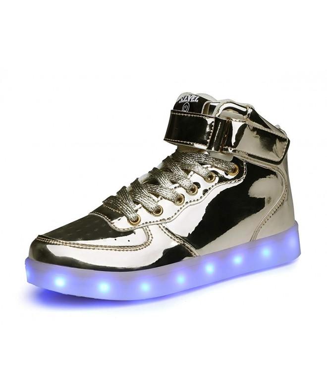 LED Light up Shoes USB Flashing