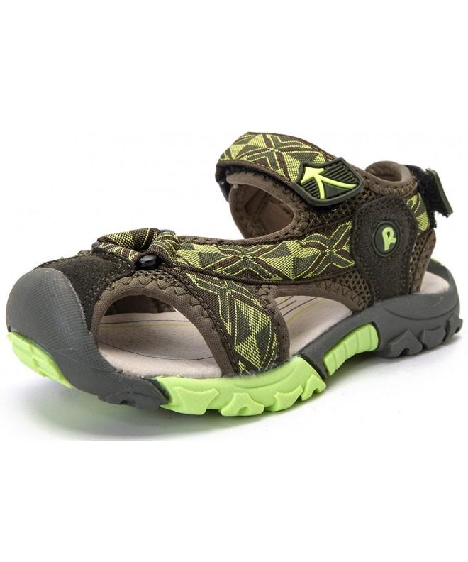DADAWEN Outdoor Closed Toe Sandals Toddler