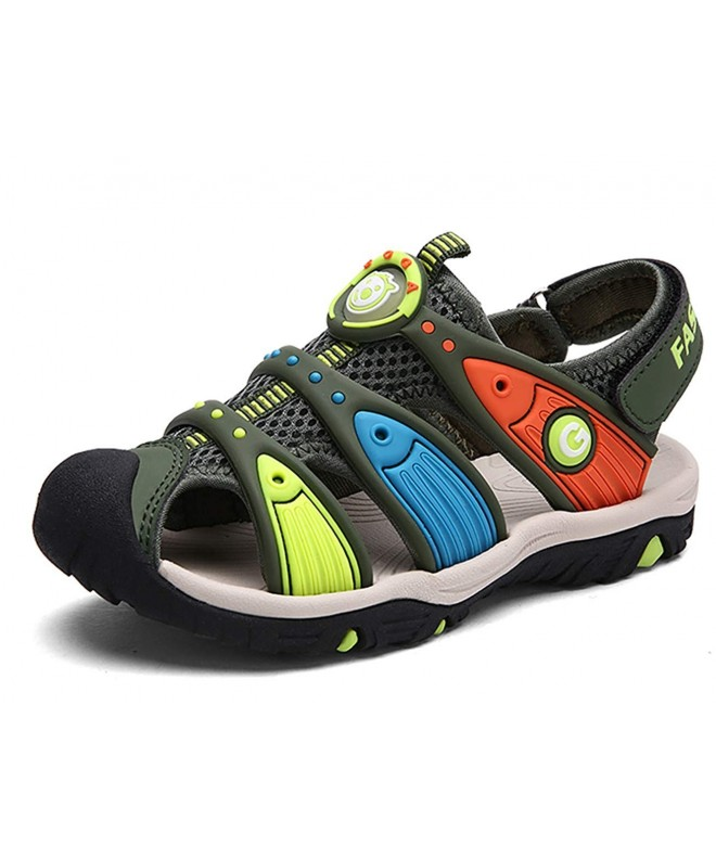 DADAWEN Outdoor Breathable Athletic Sandals