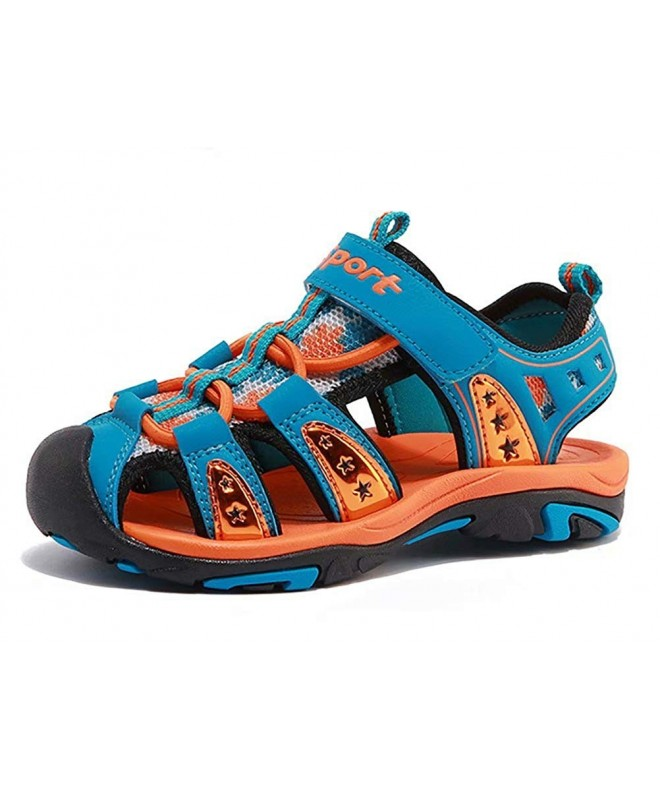 Sketo Closed Toe Outdoor Sandals Toddler