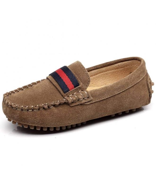 Shenn Girls Comfortable Leather Loafer