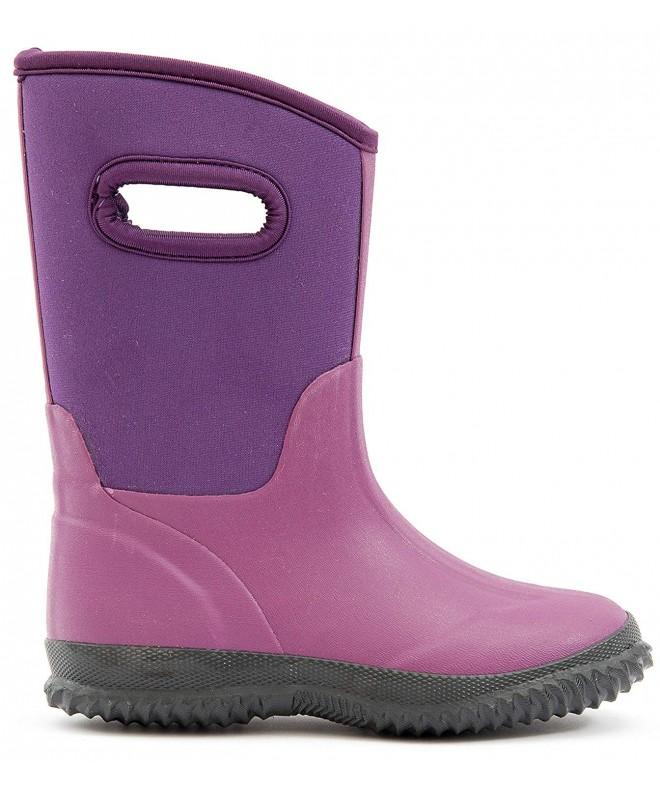 MOFEVER Kids Toddler Neoprene Boots