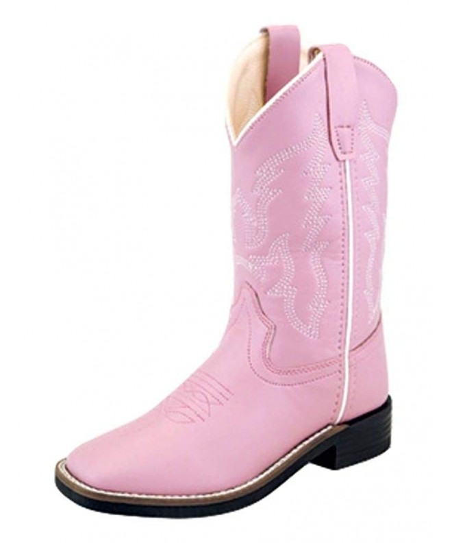 Old West Kids Boots Leatherette