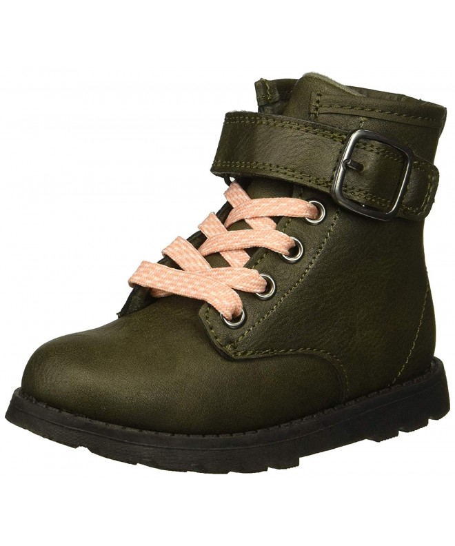 Carters Girls Cory2 Olive Combat