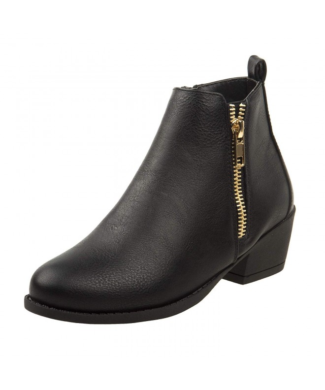 Kensie Girl Bootie Zipper Closure