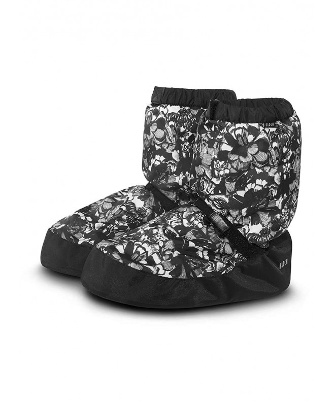 Bloch Printed Slipper Floral Medium
