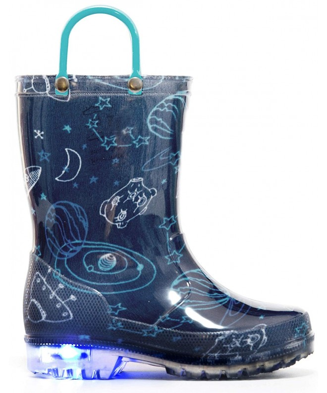 MOFEVER Toddler Printed Light Boots