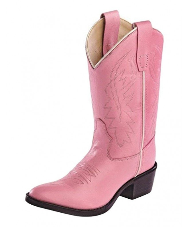 Girls Leather Cowboy Boots Little