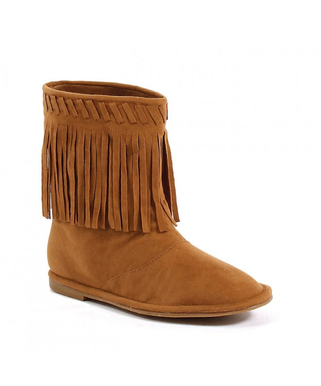 Ellie Shoes Childrens Moccasin Fringe