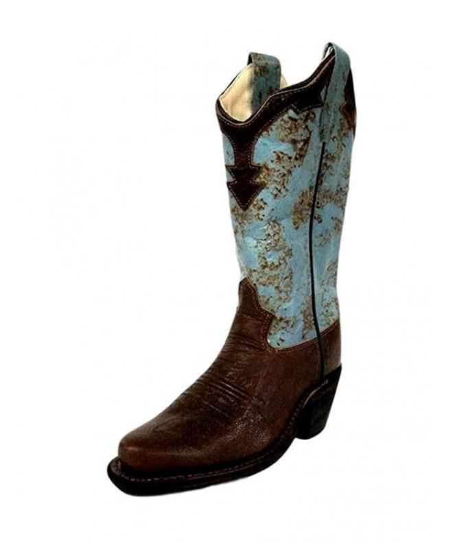 Old West Wingtip Collar Cowboy
