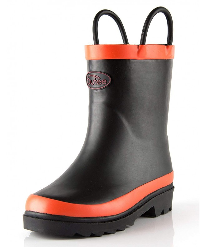 Outee Toddler Solid Rubber Boots