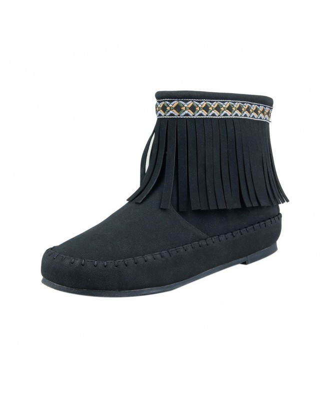 Doll Maker Fringe Ankle Boot
