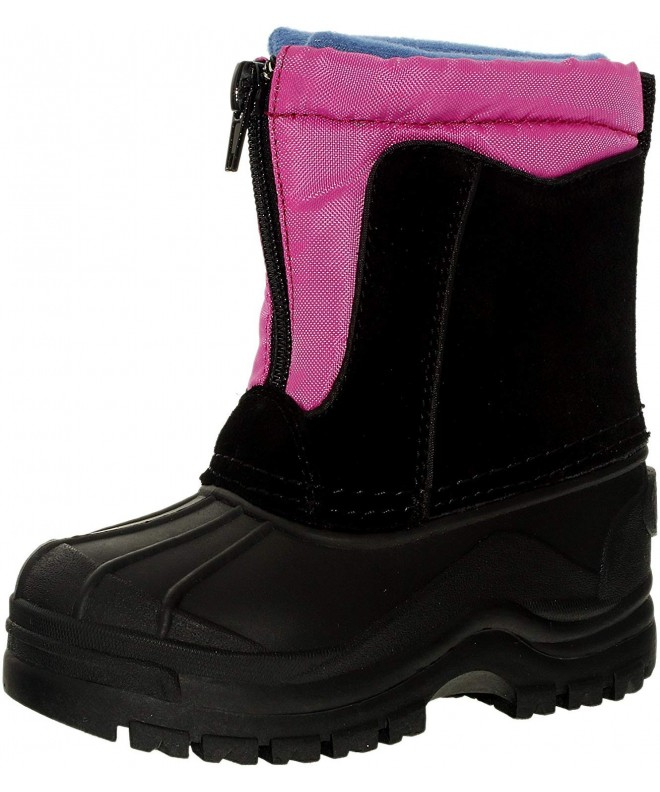 totes Boys Snowdrift Ankle High Leather