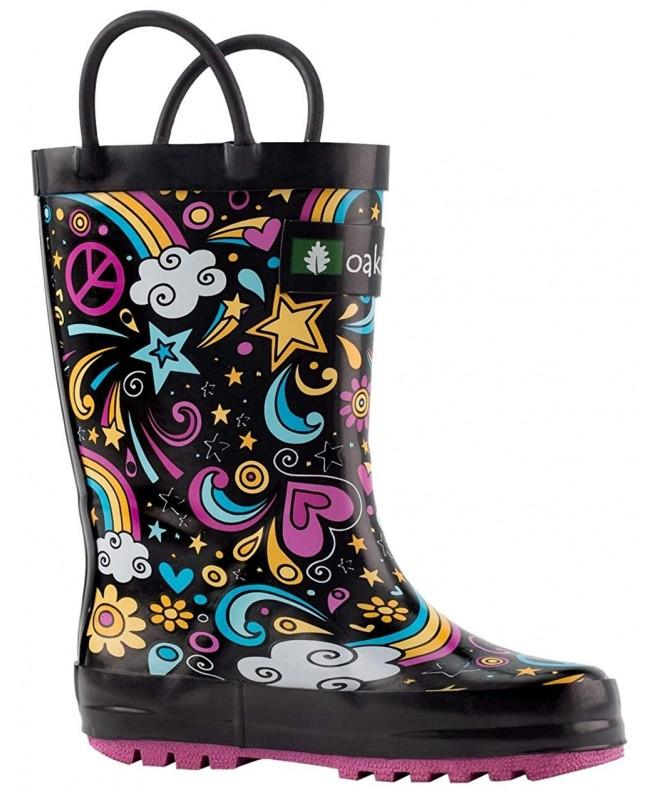 OAKI Boots Handles Rainbows Toddler