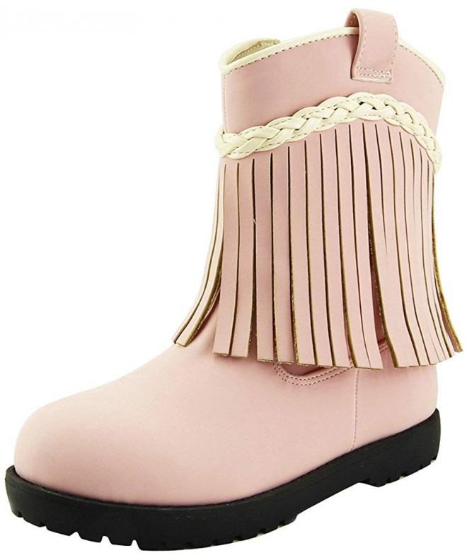 Doll Maker Fringe Western Boot