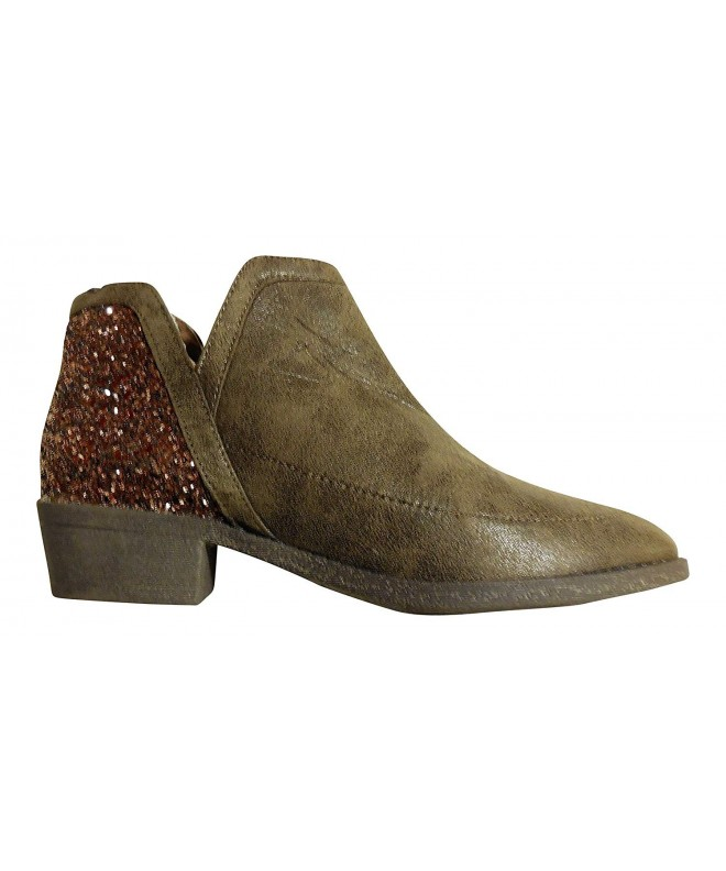 Justice Girls Fashion Bootie Oatmeal