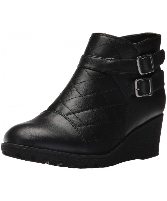 36ad20ad7bee7 Girls Faux Leather Zipper/Buckle Mid Calf Boots (Toddler/Little Kid ...