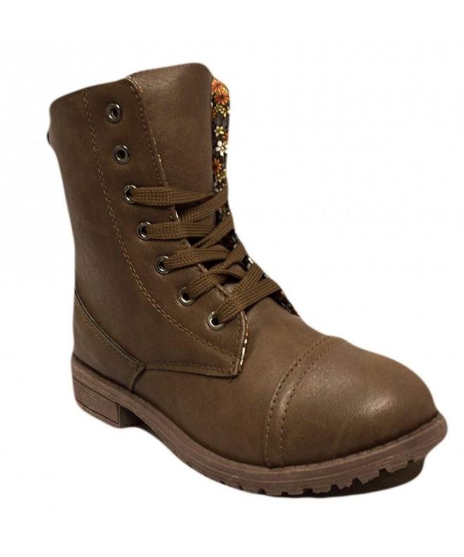 Charles Albert Little Combat Boots