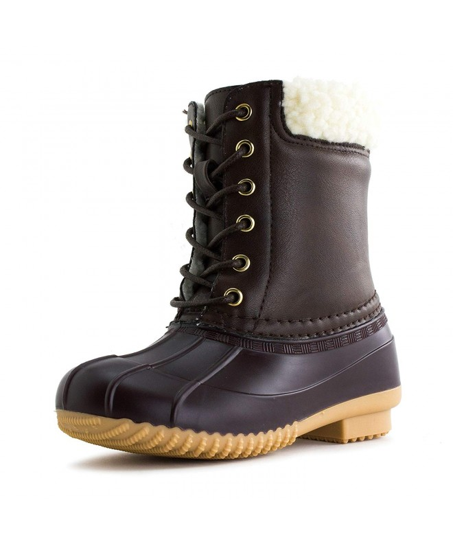 Link Leather Mid Calf Water Proof Toddler