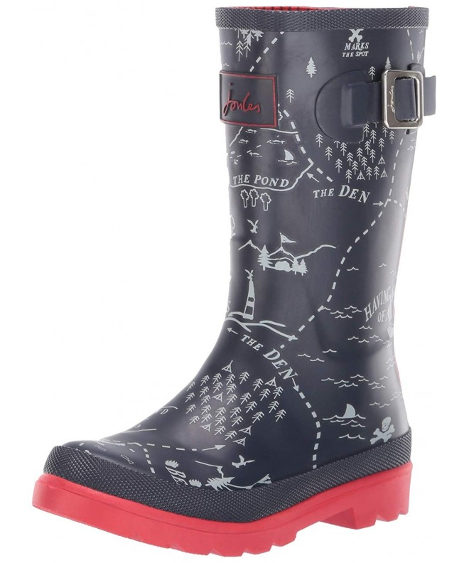 Joules Kids Welly Print Rain