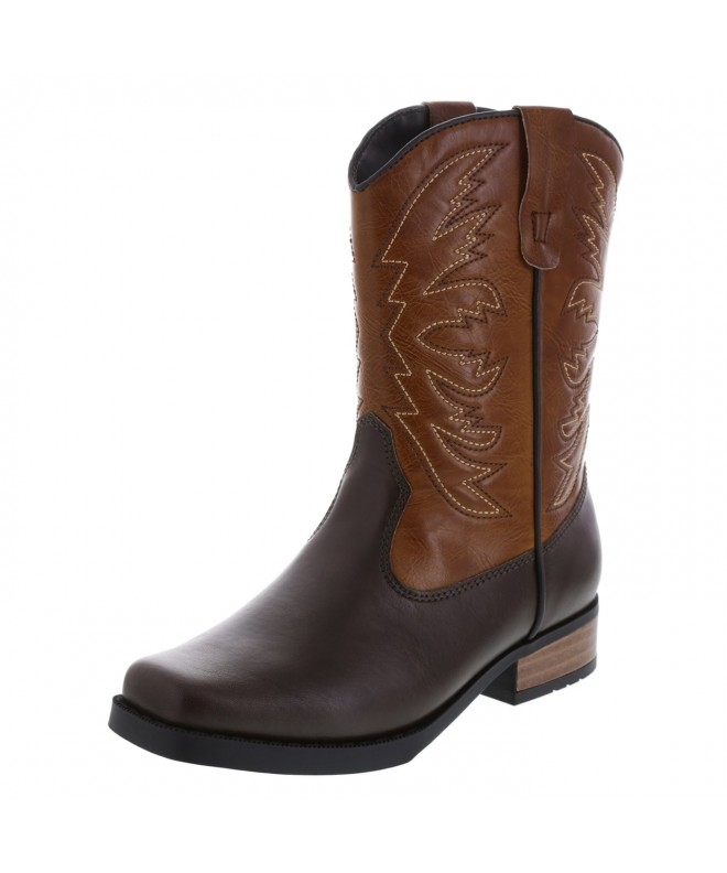 SmartFit Boys Square Western Boot