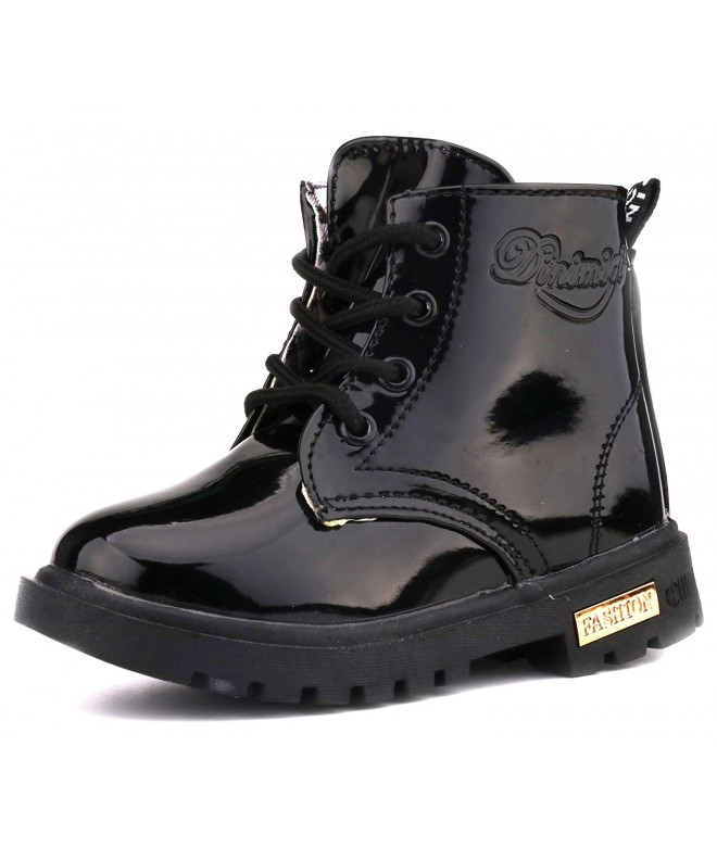 LONSOEN Kids Girls Ankle Boots