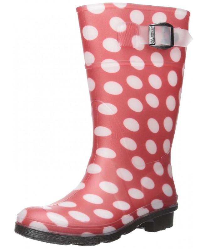 Kamik Dots Rain Boot Little