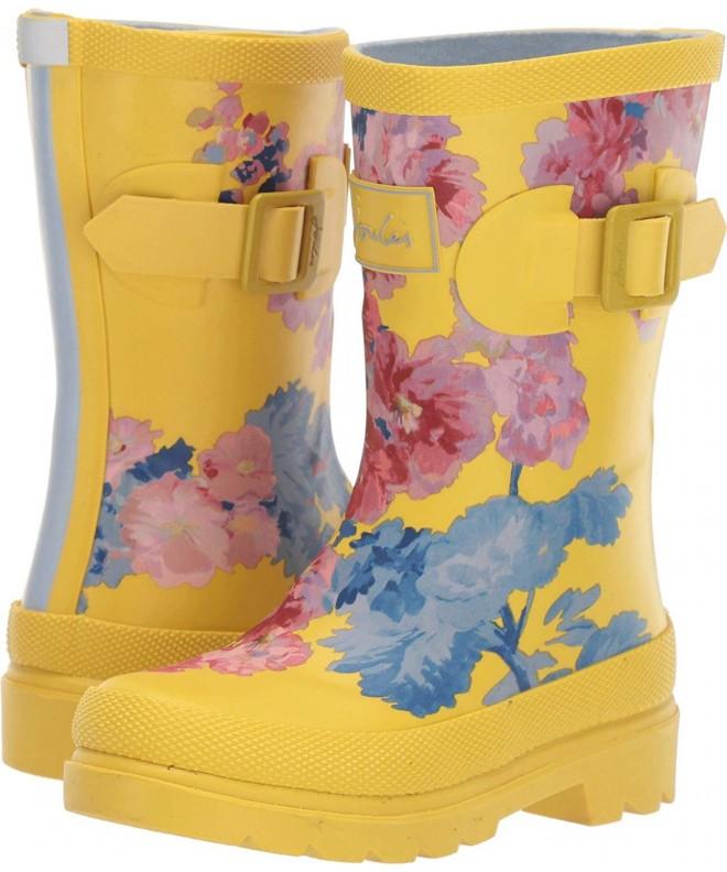 Baby Girl's Printed Welly Rain Boot (ToddlerLittle KidBig Kid) Yellow Floral 9 M US Toddler CM18ELR0R6K