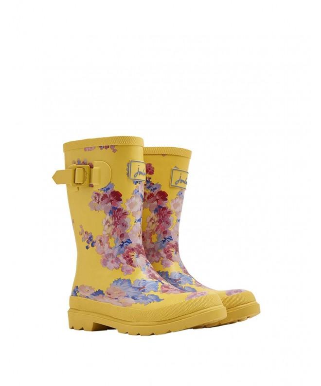 Baby Girl's Printed Welly Rain Boot (ToddlerLittle KidBig Kid) Yellow Floral 12 M US Little Kid CB18ELQK6I2