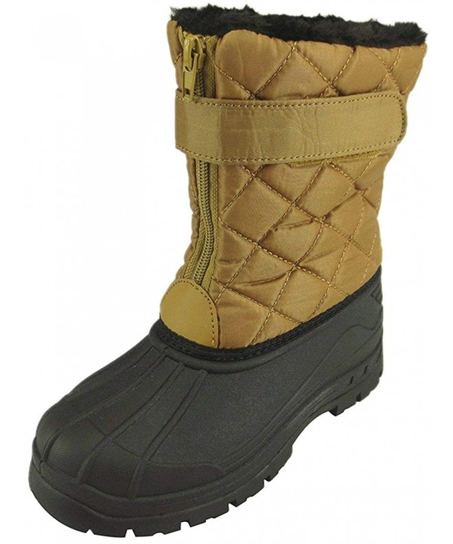 Doll Maker Quilted Snow Boot