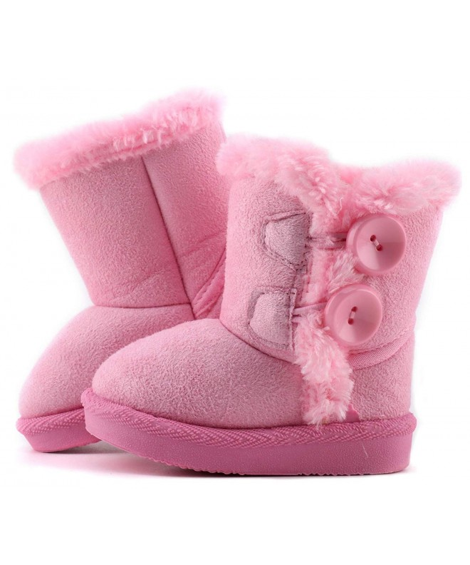 LONSOEN Little Flower Booties Toddler