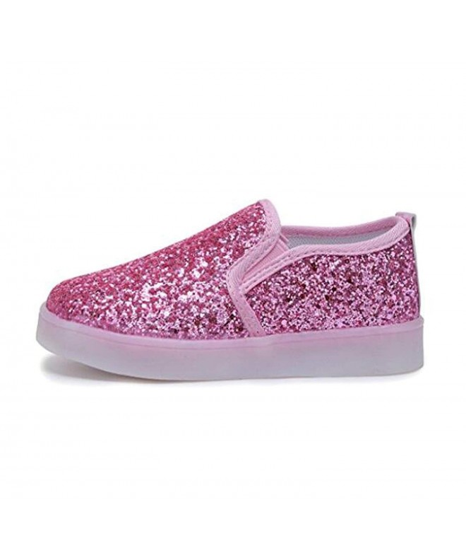 Otamise Sequins Flashing Loafers Sneakers
