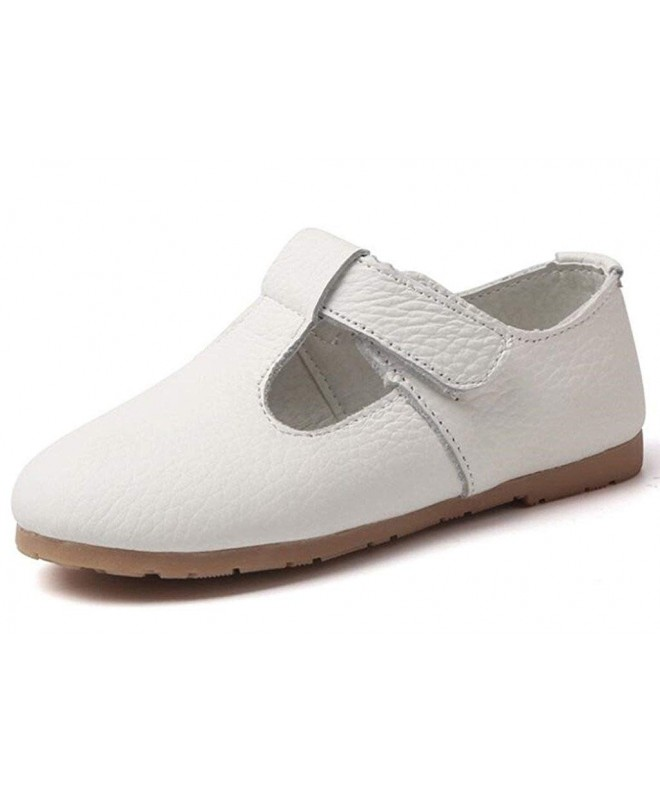 DADAWEN Childs Leather T Shaped Oxford